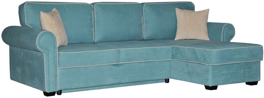 Угловой диван «Джаз» вар. 2mL.6mR: ткани 19 группа