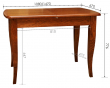 Стол обеденный «Альт 4» П285.06, Цвет: Черешня (alt_4_