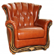 Кресло «Европа» (12), Материал: натуральная кожа, Группа ткани: 150 группа