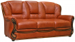 3-х местный диван «Изабель 2» (3м) натуральная кожа 140 группа