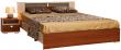 Кровать двойная «Квадро» П181.06, Материал: основание кровати: металлокаркас, Цвет: Дуб Белфорд+ноче Милано (krovat_dvoinaya_kvadro_p181_06.jpg)