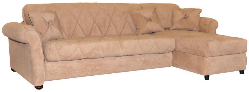 Угловой диван «Палермо» вар. 3mL.8mR: ткань 21 группа