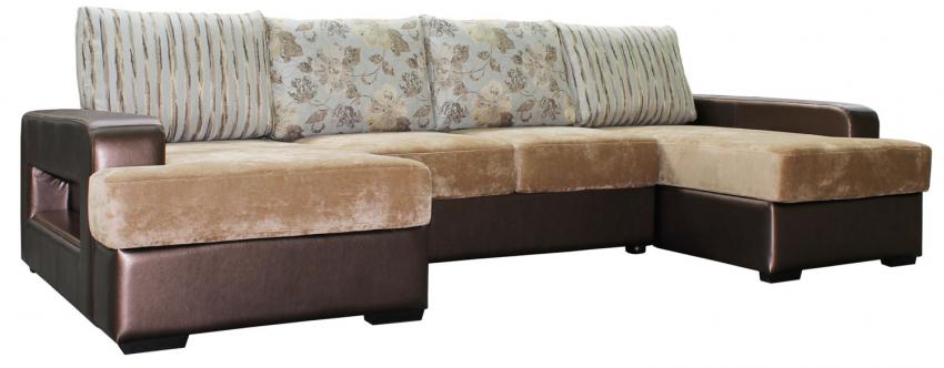 Угловой диван «Сальвадор» вар. 8mL.20m.8mR: ткани: 1003-121-957-957_21 группа
