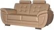 3-х местный диван «Редфорд» 3М:  натуральная кожа_2025 140 группа