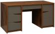 Стол письменный «Монако» П510.14, Цвет: Дуб Саттер+Серый Мокко