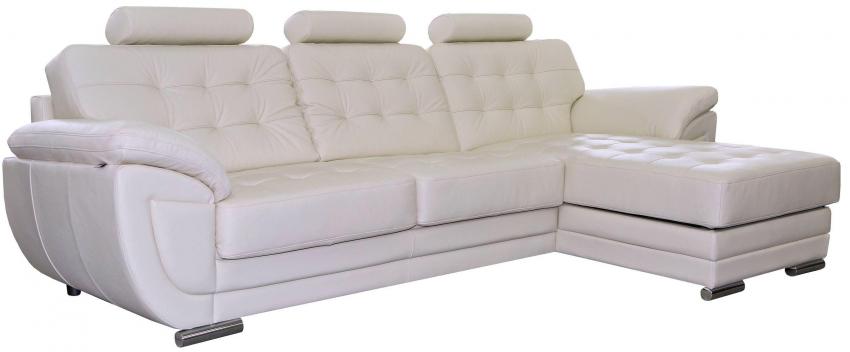Угловой диван «Редфорд»вар. 3mL.8mR:: натуральная кожа_1068_120 группа
