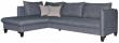 Угловой диван «Осирис» вар.2mR.6L,  ткани:31222+31220_20 группа