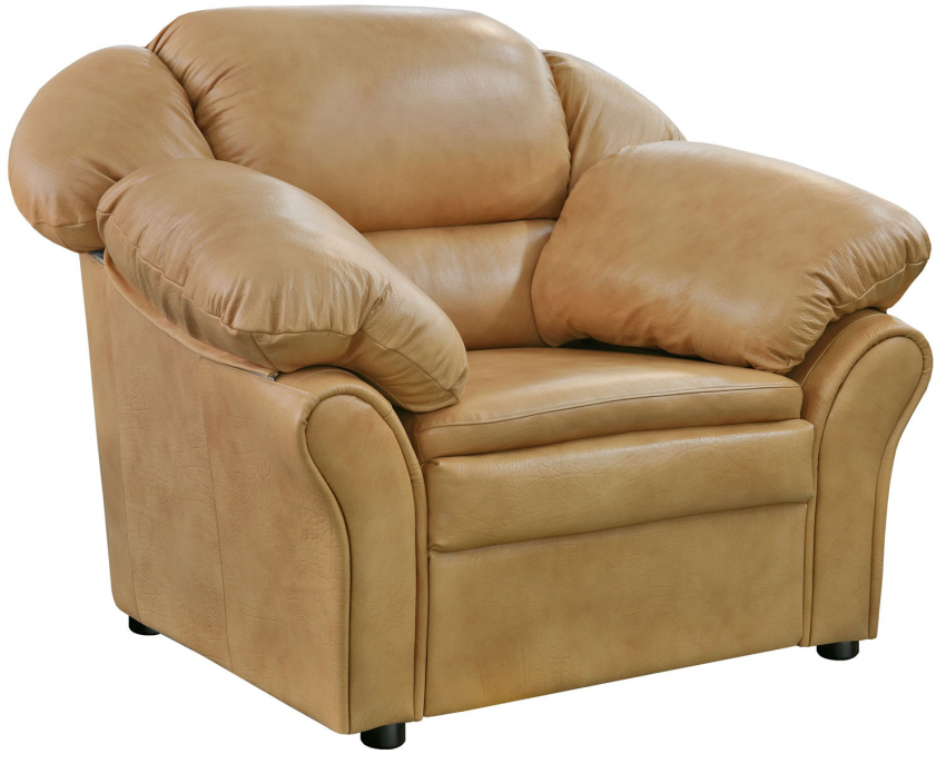 Кресло «Луиза 1» (12), Материал: натуральная кожа, Группа ткани: 120 группа