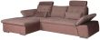 Угловой диван «Джорджия» вар. 2mR.8mL:  ткани 31057+577_19 группа