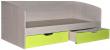 Кровать одинарная «Бонни» П027.02, Материал: ДСП ламинированная, Цвет: Лайм (krovat_bonny_p027_02_laim_25b7a7124efa1a.jpg)