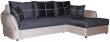 Угловой диван «Лоренцо» вар. 3mL.6mR: ткани: 580+584_20 группа