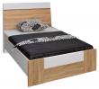 Кровать «Комфорт» П400.02-2, Материал: ДСП ламинированная, Цвет: Дуб Сонома+серый (krovat_komfort_p400_02-2_4.jpg)
