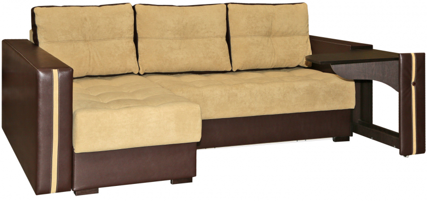 Угловой диван «Мелисса» вар 2mR.6мL: ткани 70+136_19 группа