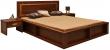 Кровать двойная «Луксор» П475.05, Цвет: Черешня (krovat_luxor_p475_05_chereshnya.jpg)