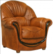 Кресло «Дельта» (12), Материал: натуральная кожа, Группа ткани: 120 группа